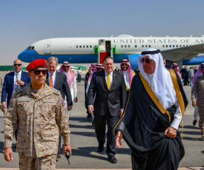 Pompeo meets with Saudi king over reporter's disappearance