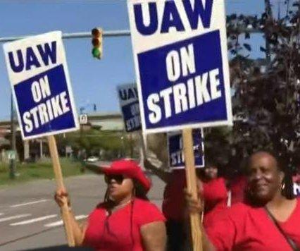 GM strike enters 2nd week, UAW prepared to picket for weeks