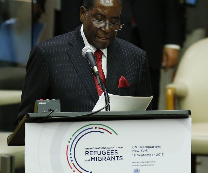 WHO rescinds Robert Mugabe's goodwill ambassador status