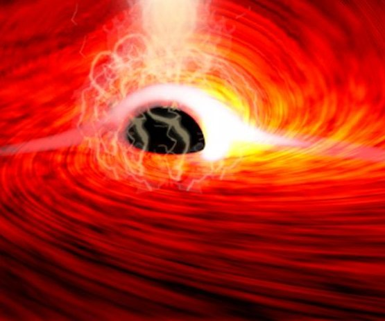 Astronomers detect light from behind a black hole for the first time