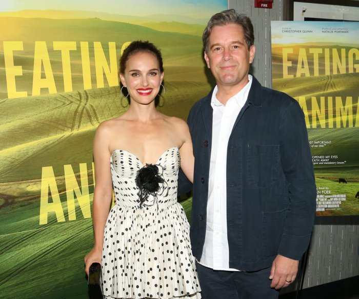 Natalie Portman attends 'Eating Animals' screening