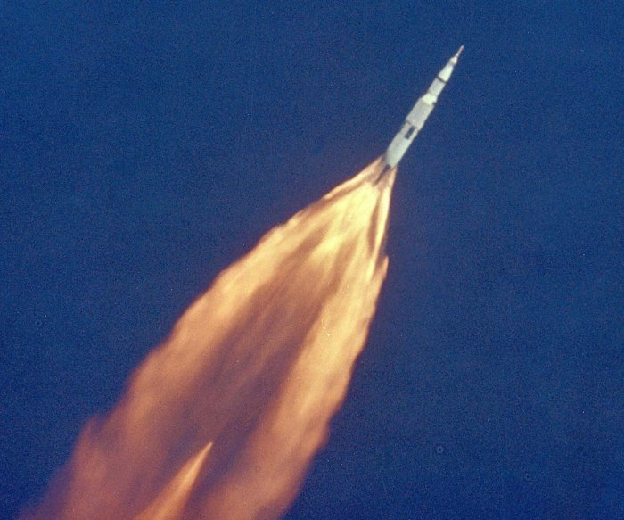 NASA TV rebroadcasts Apollo 11 liftoff on 50th anniversary