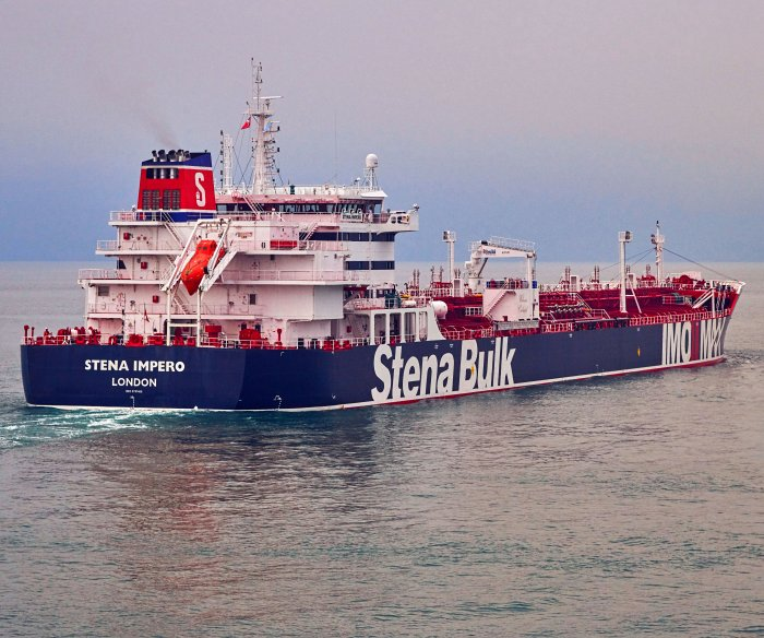 Iran seizes two British-linked tankers in Strait of Hormuz