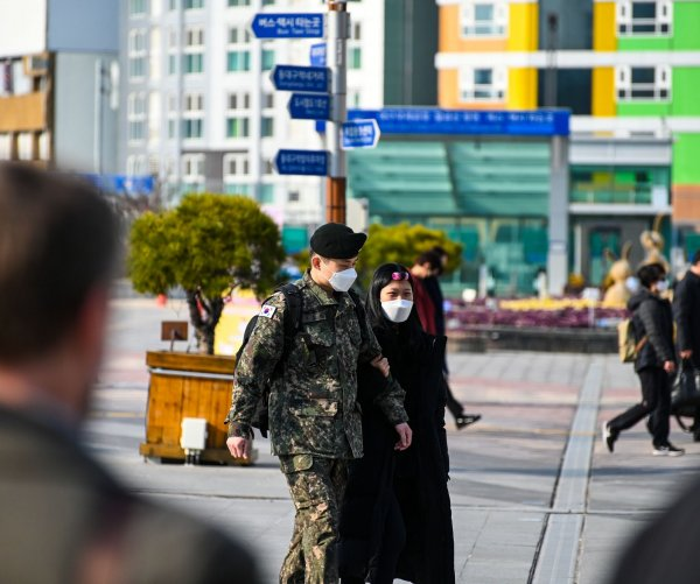 South Korea coronavirus cases soar to 1,261 in highest single-day spike