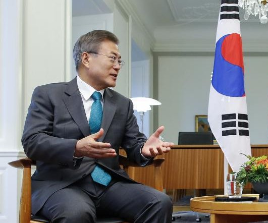 South Korea, Denmark agree on complete denuclearization