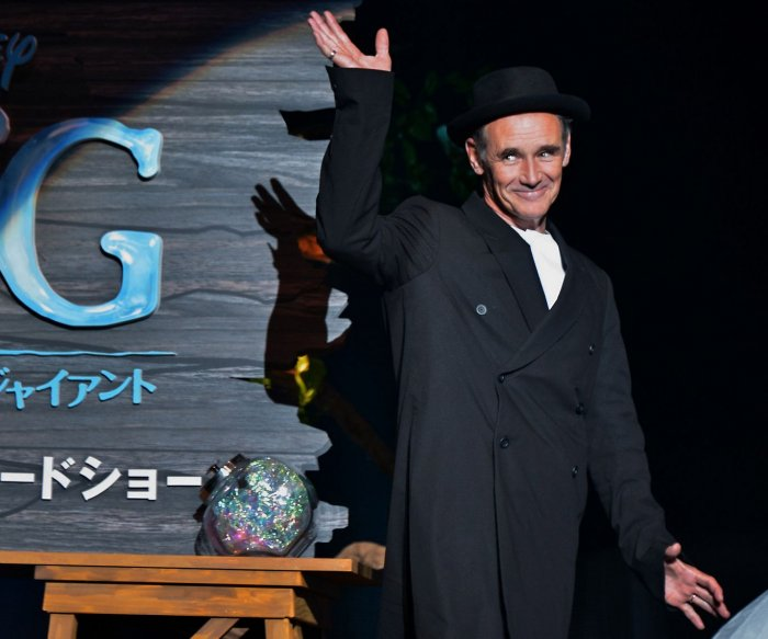 Actor Mark Rylance premieres 'The BFG' in Tokyo