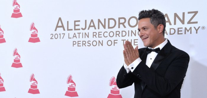 Alejandro Sanz honored as Latin Recording Academy Person of the Year in Las Vegas