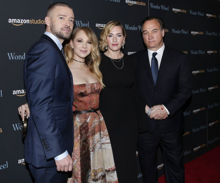 Kate Winslet, Justin Timberlake walk the red carpet at the 'Wonder Wheel' screening in NYC