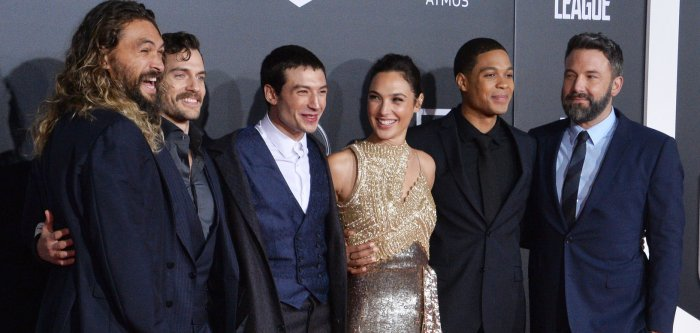 Gal Gadot, Ben Affleck walk the red carpet for 'Justice League' premiere in LA