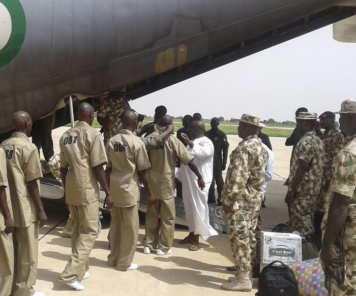 Nigerian army rescues 80 schoolgirls abducted by Boko Haram