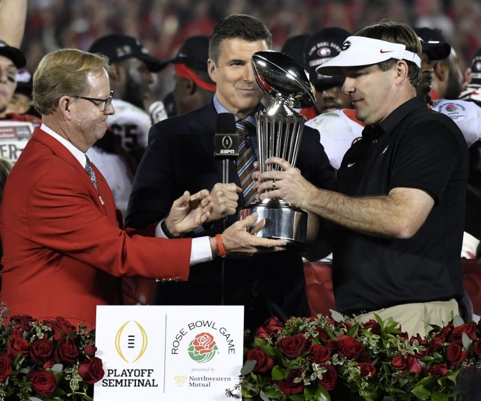 Rose Bowl highlights: Georgia beats Oklahoma in double OT