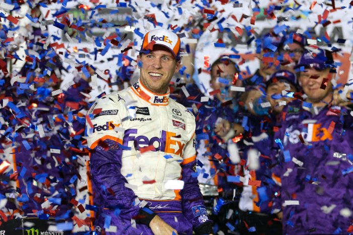Denny Hamlin wins NASCAR's Daytona 500