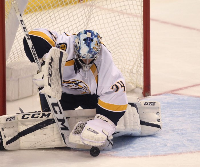 Nashville Predators maintain first place in West after shutout win over Edmonton Oilers