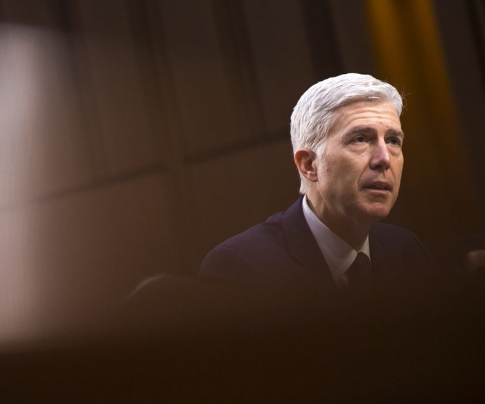 Gorsuch: Supreme Court not going back to 'horse and buggy days'