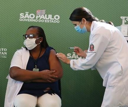Brazil inoculates first citizens against COVID-19
