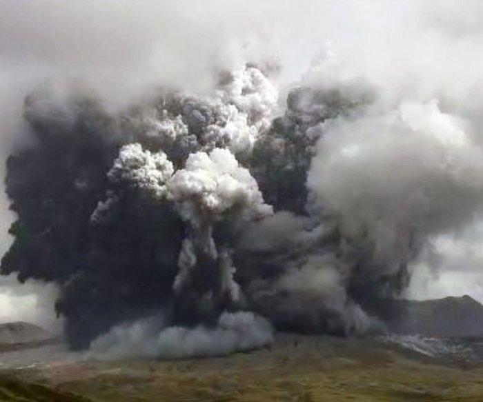 Mount Aso volcano erupts, spews lava and ash in southwest Japan