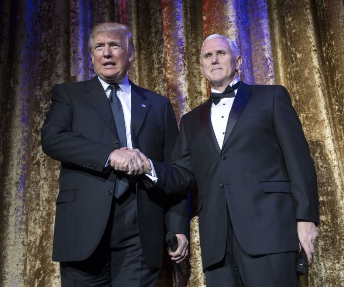 Trump transition: Photos of the Chairman's Global Dinner