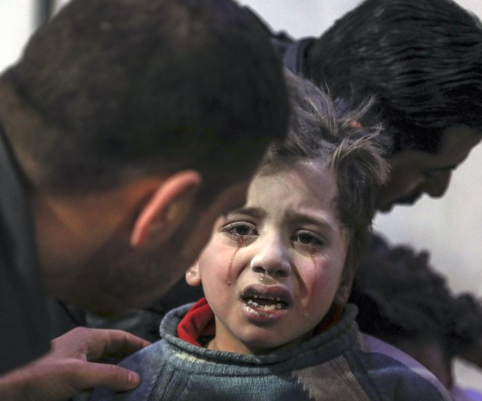 Over 150 Syrian civilians dead after 2-day barrage of attacks