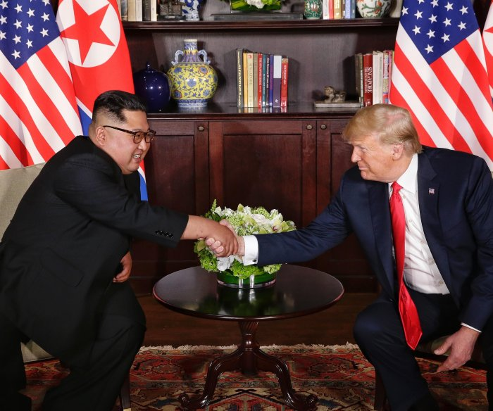 Koreas slow to enforce military deal as focus shifts to Hanoi summit