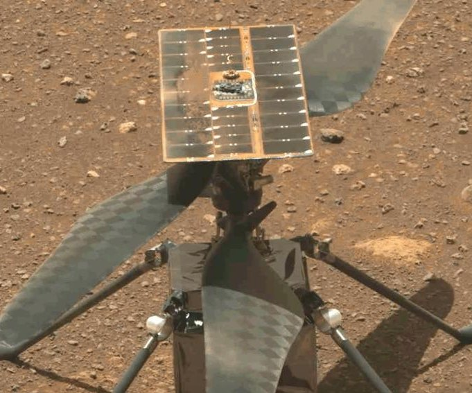 Mars Ingenuity flight scheduled for Monday, NASA says