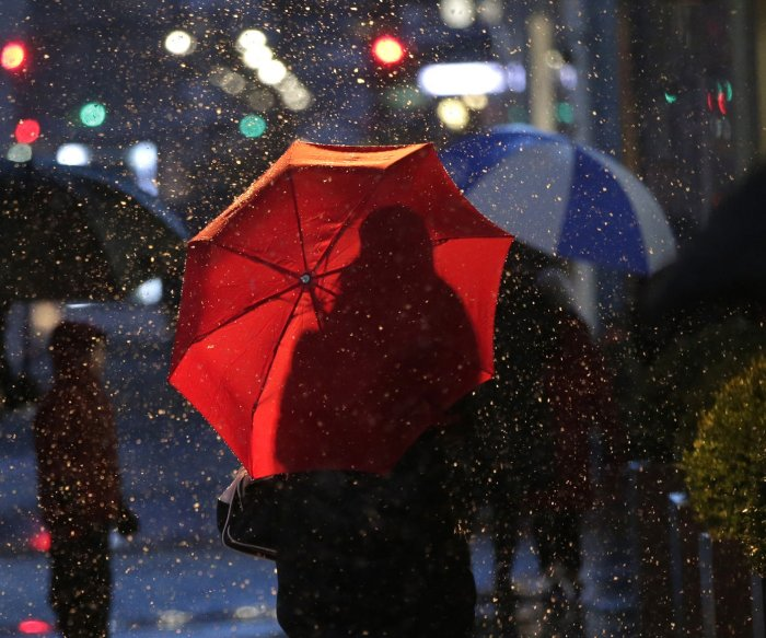 Winter storm to bring snow, ice, rain to 60 percent of U.S.