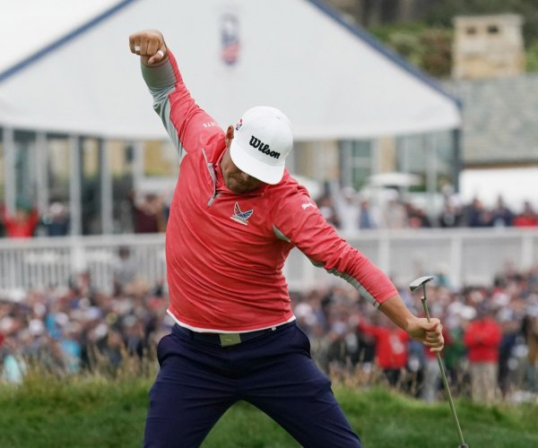 U.S. Open: Gary Woodland wins first major championship