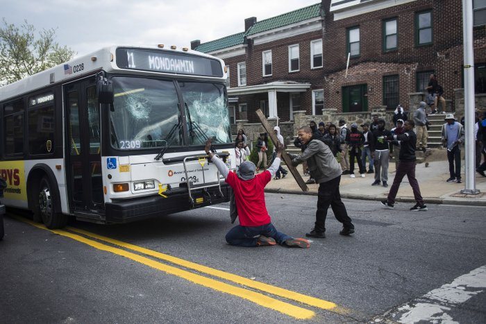 Rampage over Freddie Gray's death in Baltimore