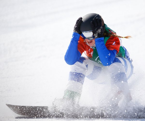 2018 Winter Olympics: Moments from snowboarding