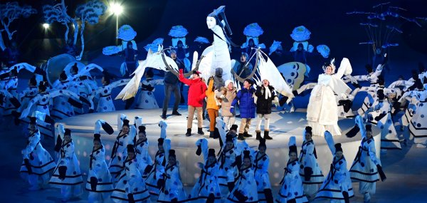 2018 Pyeongchang Winter Olympics opening ceremony