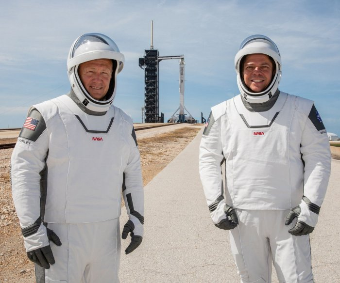 America gets ready to again see astronauts head into space from U.S. soil