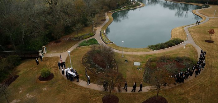 Memorial services honor former President George H.W. Bush