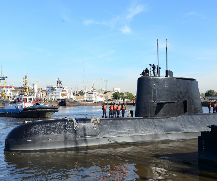 Argentina detects satellite signals from missing submarine