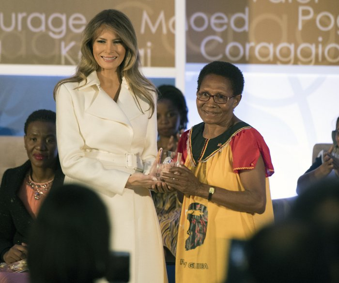 Melania Trump presents International Women of Courage Awards