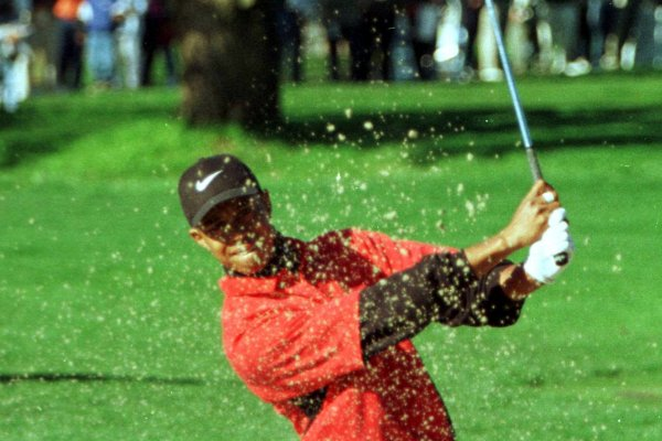 Moments from Tiger Wood's career