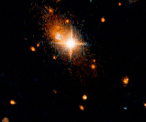 Astronomers find expelled supermassive black hole