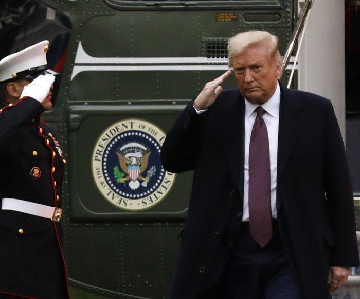 Trump says U.S. 'rounding the turn' on COVID-19, calls Biden 'shutdown candidate'