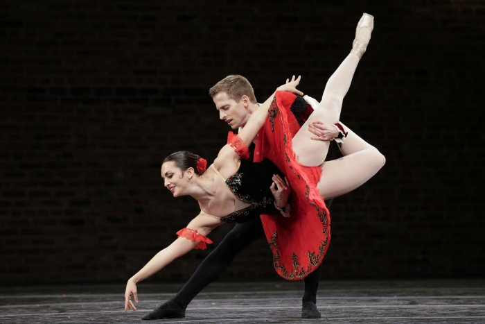 Moments from the Valentina Kozlova International Ballet Competition