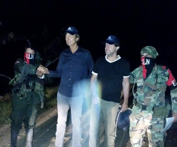 Colombian rebels release Dutch journalists, ombudsman says