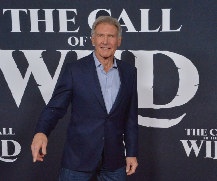 Harrison Ford attends 'The Call of the Wild' premiere in LA