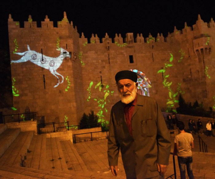 Jerusalem is bathed in colors for the Festival of Light