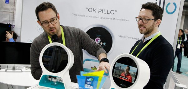 New technology showcased at consumer electronics show