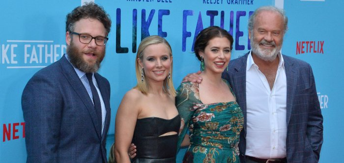 Kelsey Grammer, Kristen Bell attend 'Like Father' premiere