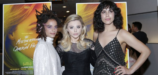 Chloe Grace Moretz, cast attend 'The Miseducation Of Cameron Post' premiere