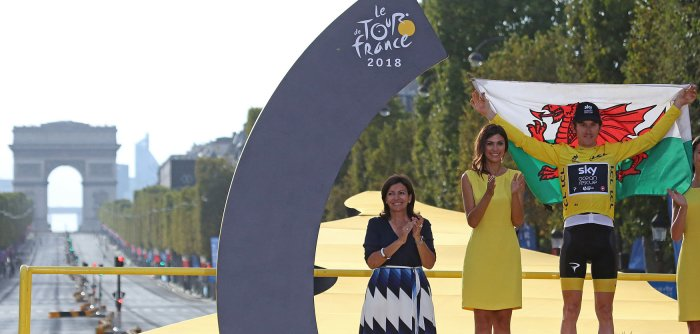 Geraint Thomas wins the Tour de France