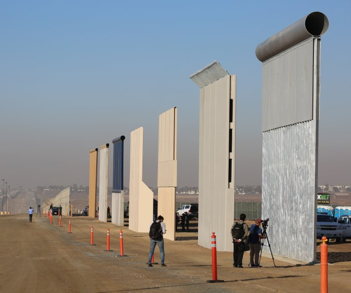 Judge's order blocks Pentagon funds for parts of border wall