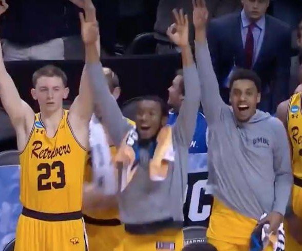 No. 16 UMBC upsets No. 1 Virginia for historic NCAA tournament win