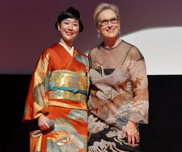 Meryl Streep opens the 29th Tokyo International Film Festival