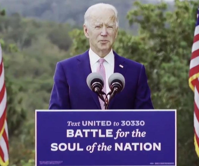 Biden invokes FDR in push to turn Georgia blue