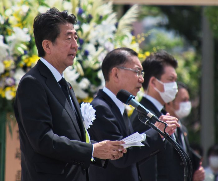 Japan marks 75th anniversary of Hiroshima and Nagasaki bombings