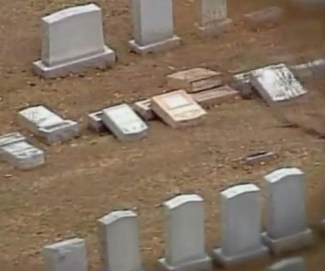 Vandals overturn Jewish headstones at Missouri cemetery